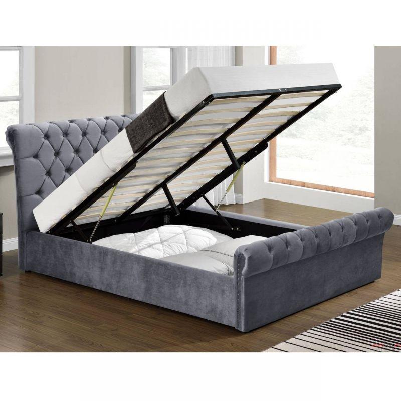łóżko Sypialniane Pikowane 140 Cm Meble Przez Internet