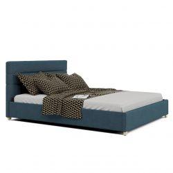 Łóżko jednoosobowe z pojemnikiem 120x200 tapicerowane
