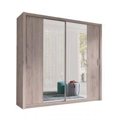 Szafa rozsuwana z lustrem - duża szafa ubraniowa