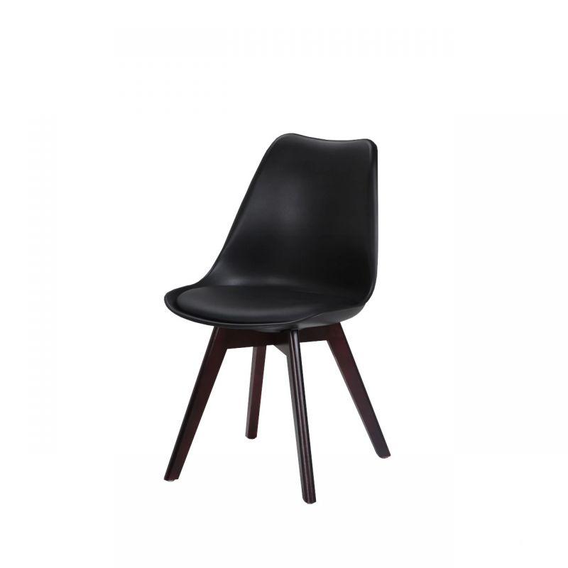 Krzesło skandynawskie czarne