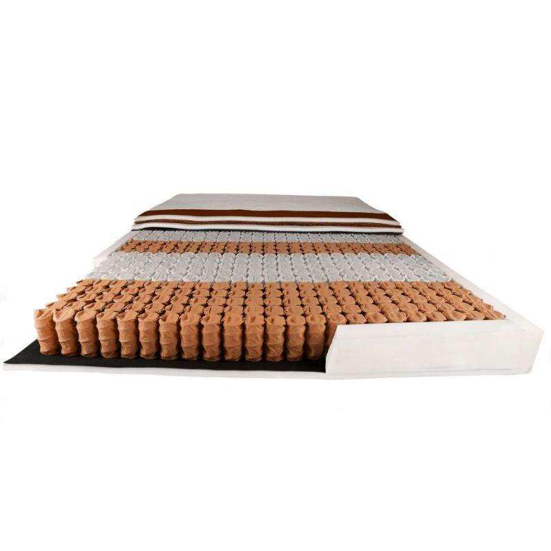 Materac kieszeniowy 120 x 200 pokrowiec hipoalergiczny