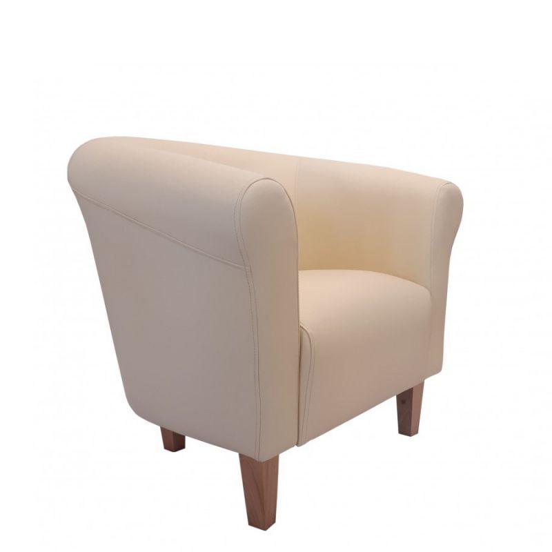 Elegancki fotel do salonu tapicerowany