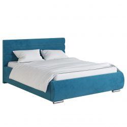 Duże łóżko do sypialni z pojemnikiem 200x200