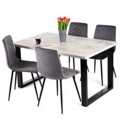 Stół rustykalny rozkładany 90x140-240 cm