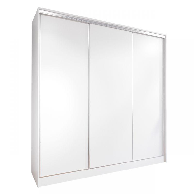 Garderoba drzwi przesuwne 200 cm biała