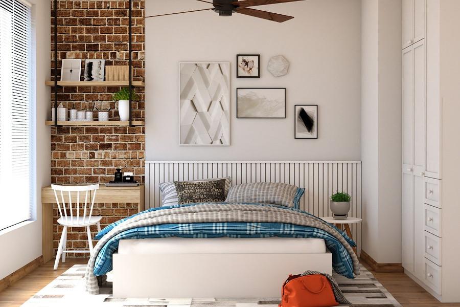 Arażacja nowoczesnej sypialni - ocieplanie wnętrza