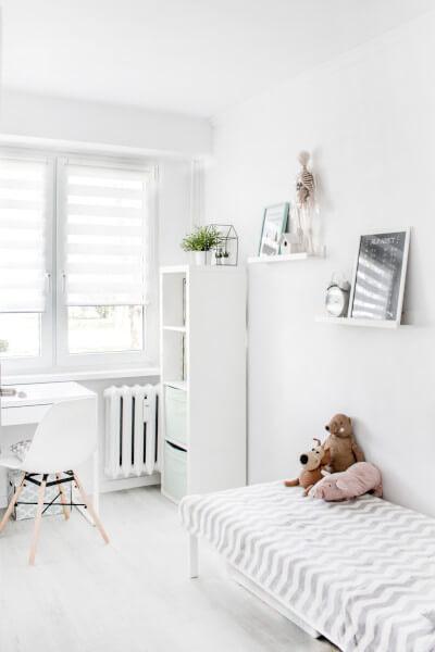 Pokój w stylu skandynawskim dla dziecka