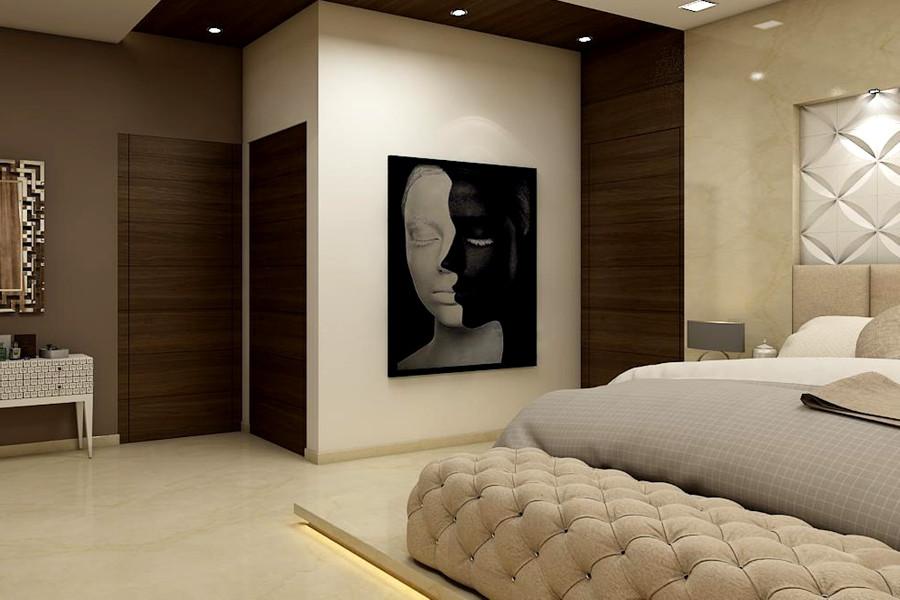 Jak urządzić przytulną sypialnię - ciepłe kolory